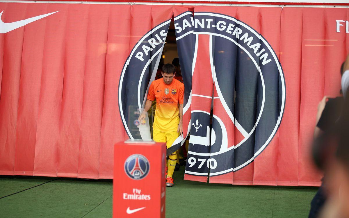 París Saint-Germain – FC Barcelone: Moment Capital