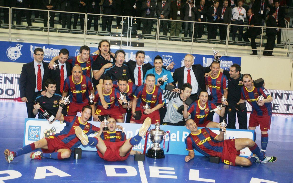 Els dos equips s'han vist les cares en les tres edicions de la Copa del Rei