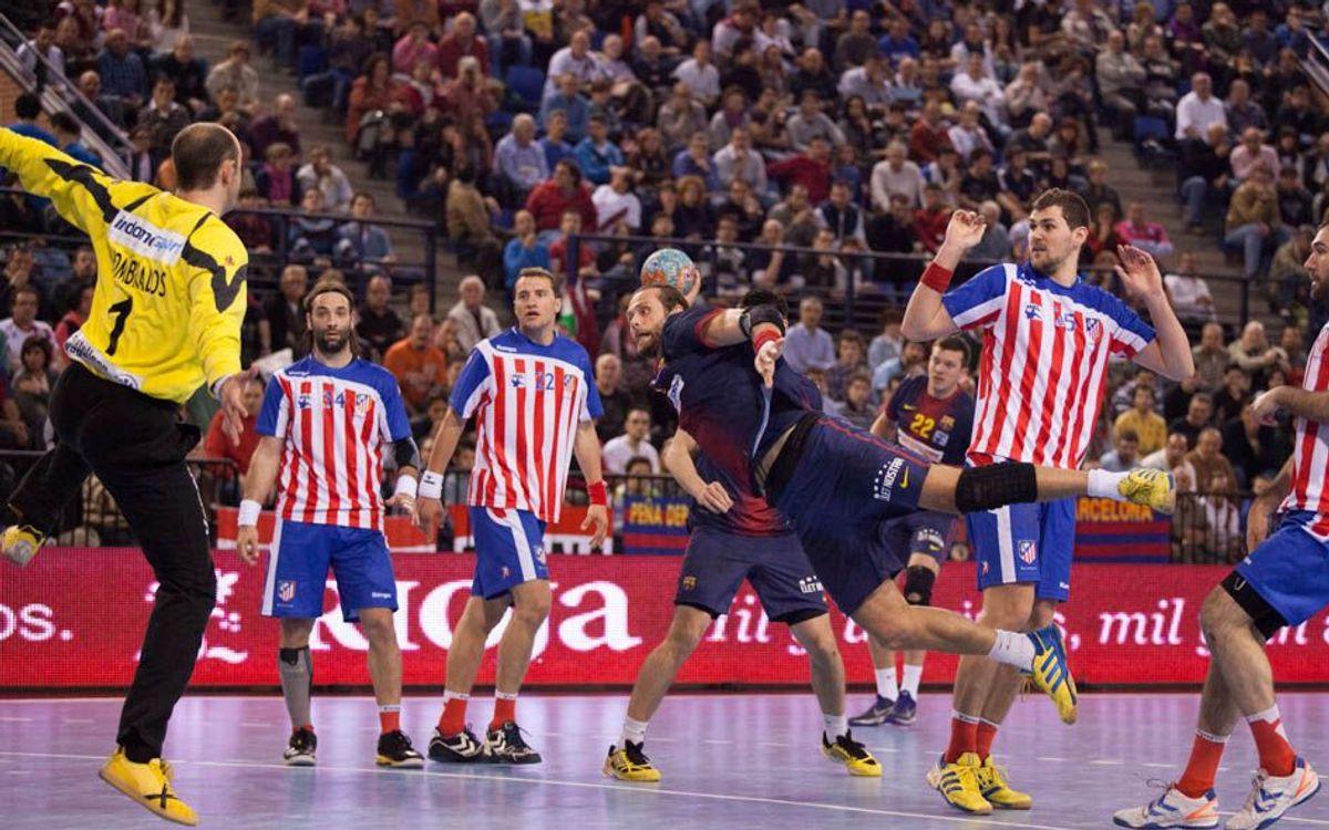 Les dades dels sis clàssics entre el FC Barcelona Intersport i el BM Atlètic de Madrid