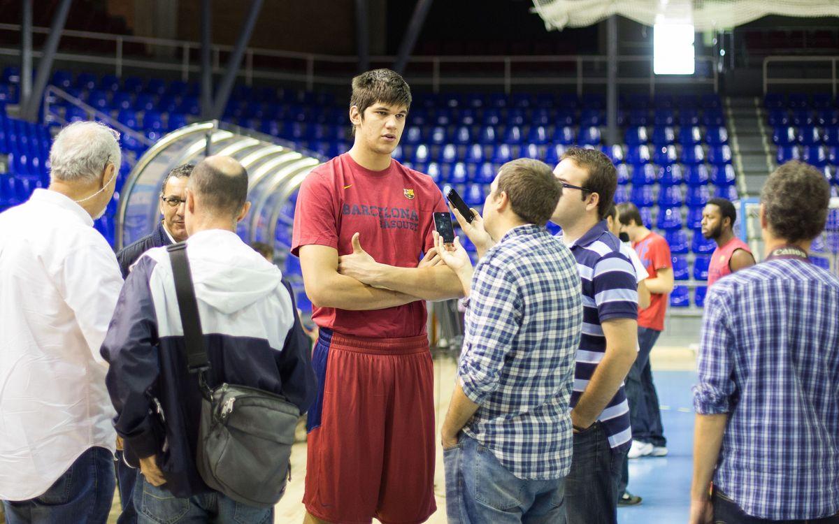Marko Todorovic espera la reacció de l'equip