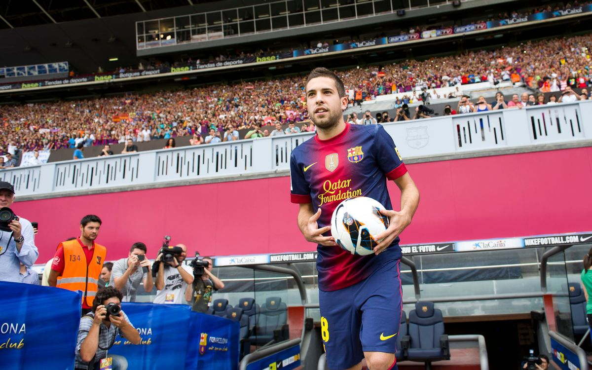 Positive review of Jordi Alba's first season at Barça