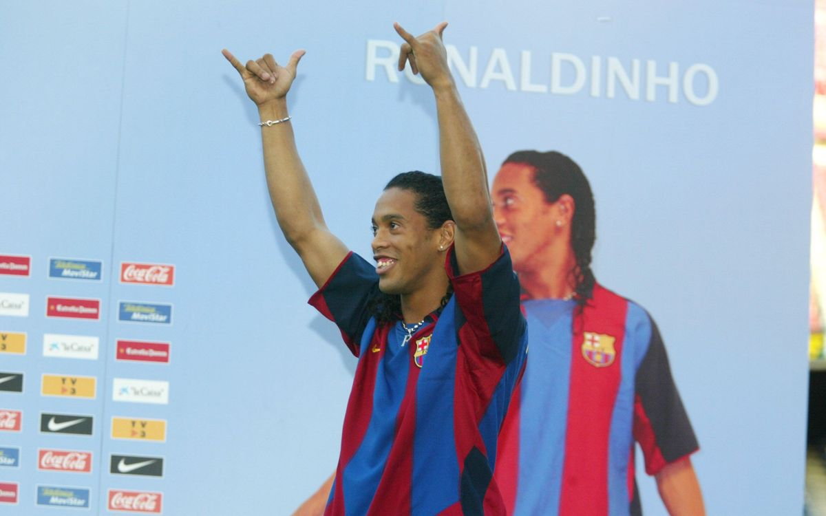 Ten years on from Ronaldinho signing