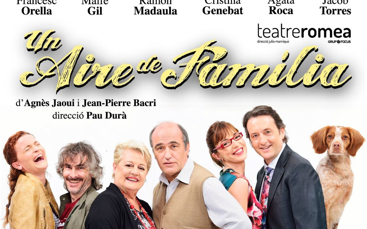 'Un Aire de Família' al Teatre Romea