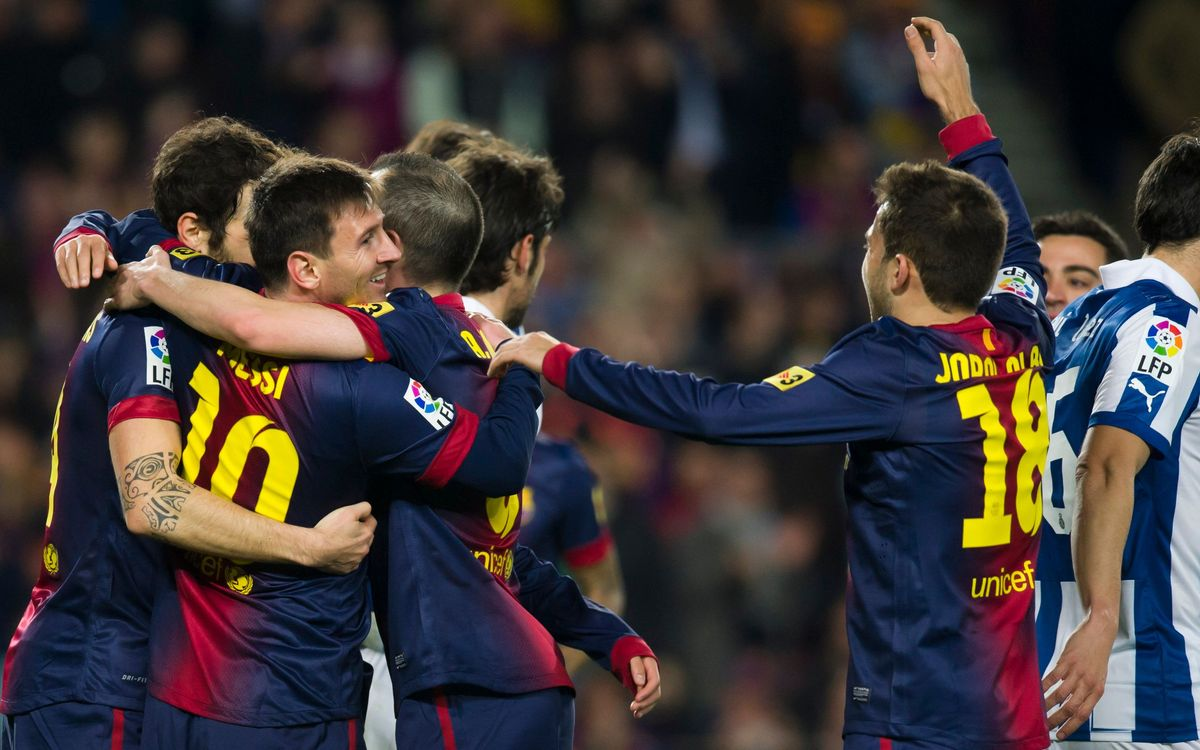 Derby goals with the hallmark of the Masia