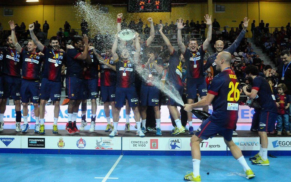 El darrer títol de Copa Asobal per al Barça d'handbol