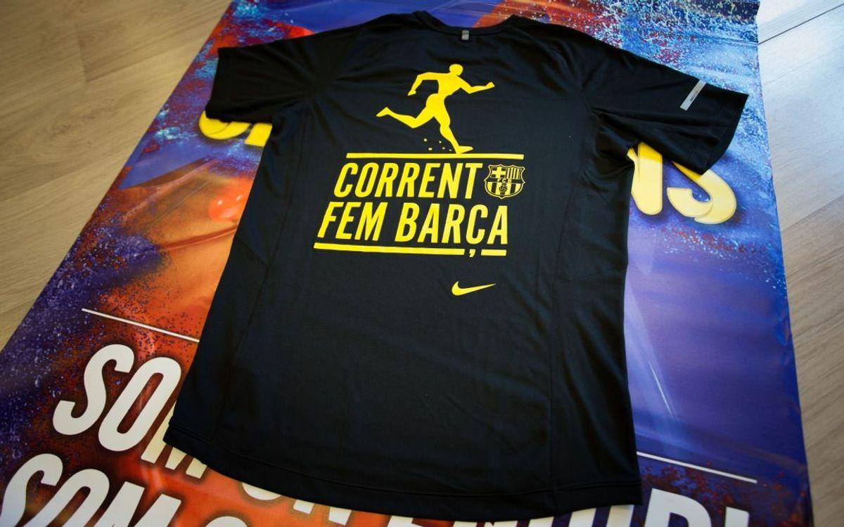 Arrenca la 2a edició de 'Corrent Fem Barça'