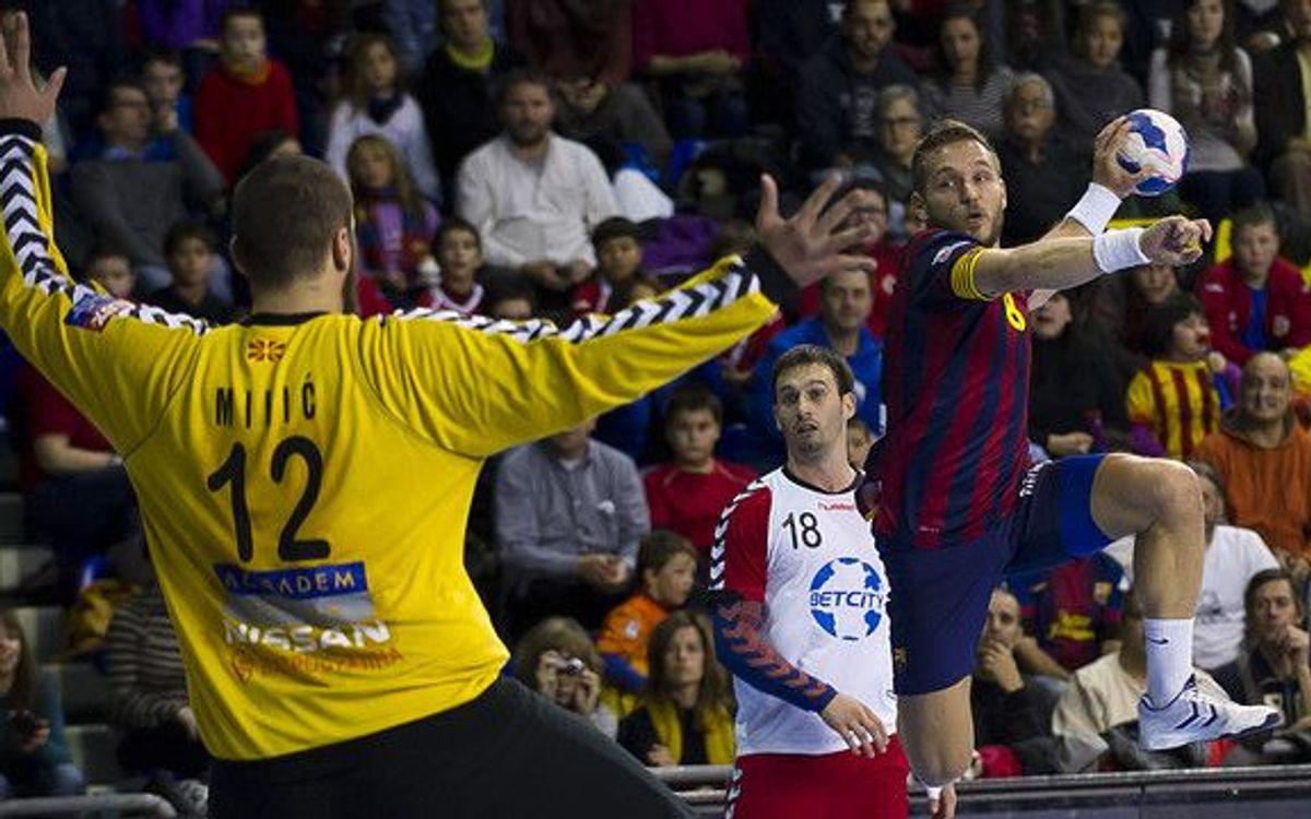 Le handball en huitième de finale