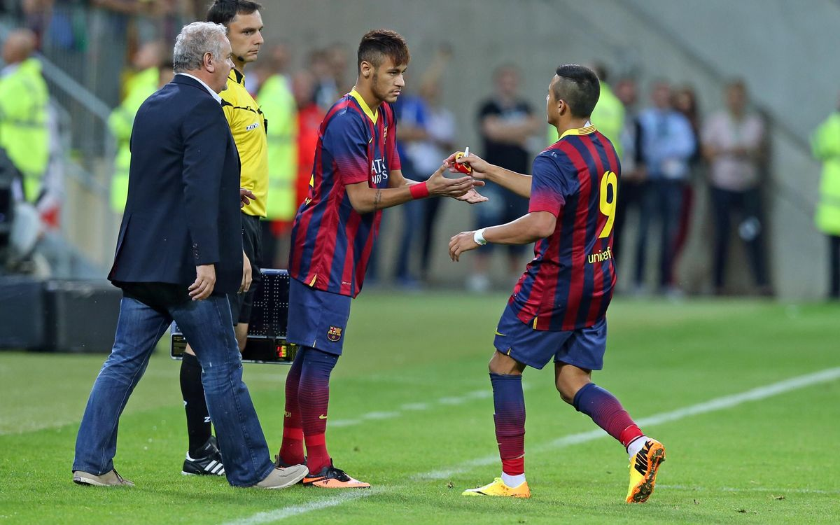 Barça-Santos - Gamper reclaims traditional role