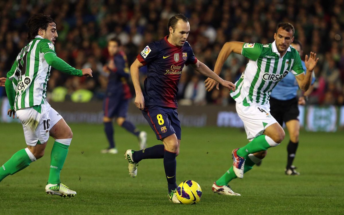 FC Barcelona v Betis: Another step closer to the league title