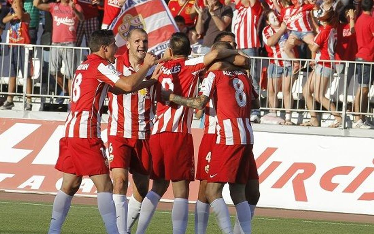 Almeria clinches final First Division football