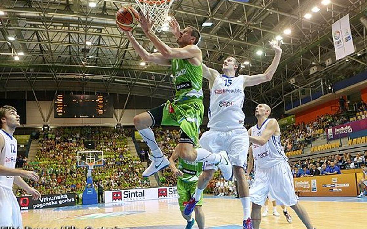 El debut dels cinc blaugranes a l'Eurobasket 2013