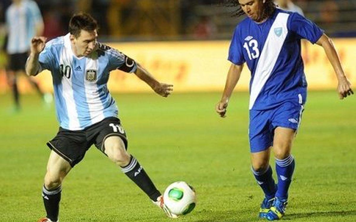 Messi dépasse Maradona et devient le deuxième meilleur buteur de la sélection d'Argentine