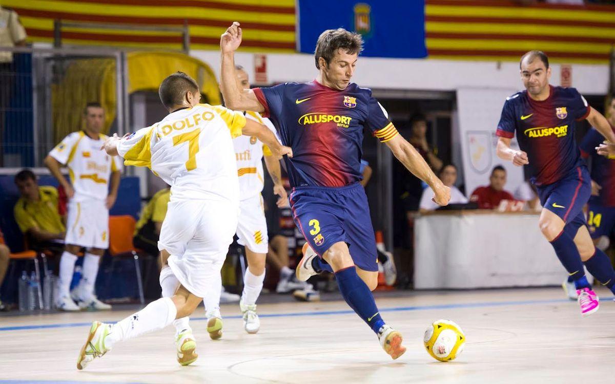 Barça Alusport - Peñíscola Bodegas Dunviro: Els blaugranes volen refermar la bona línia
