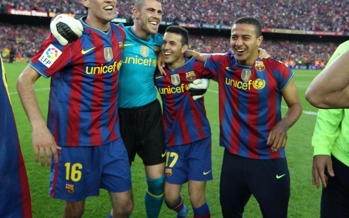 Valladolid to kick off league celebration