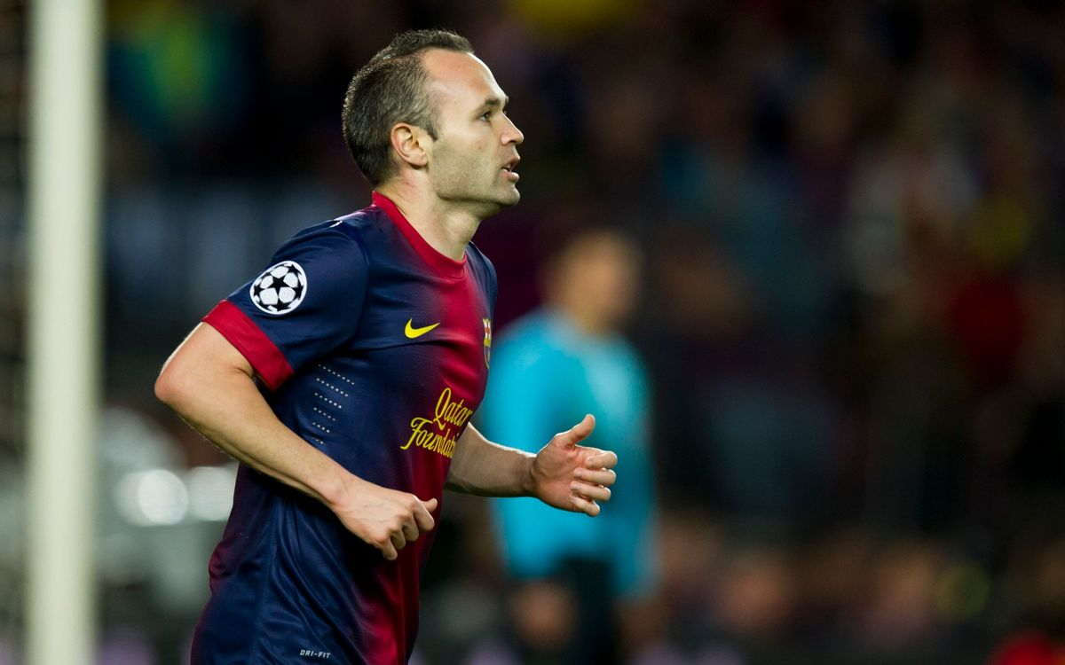 "Andrés Iniesta: ""It's great news that FC Barcelona signed Neymar"
