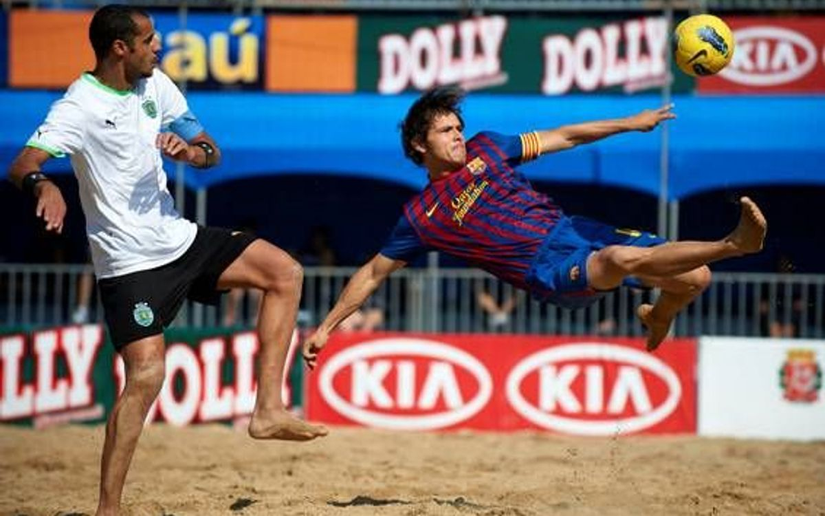 FC Barcelona to feature in the III Mundialito de Clubes Beach Soccer