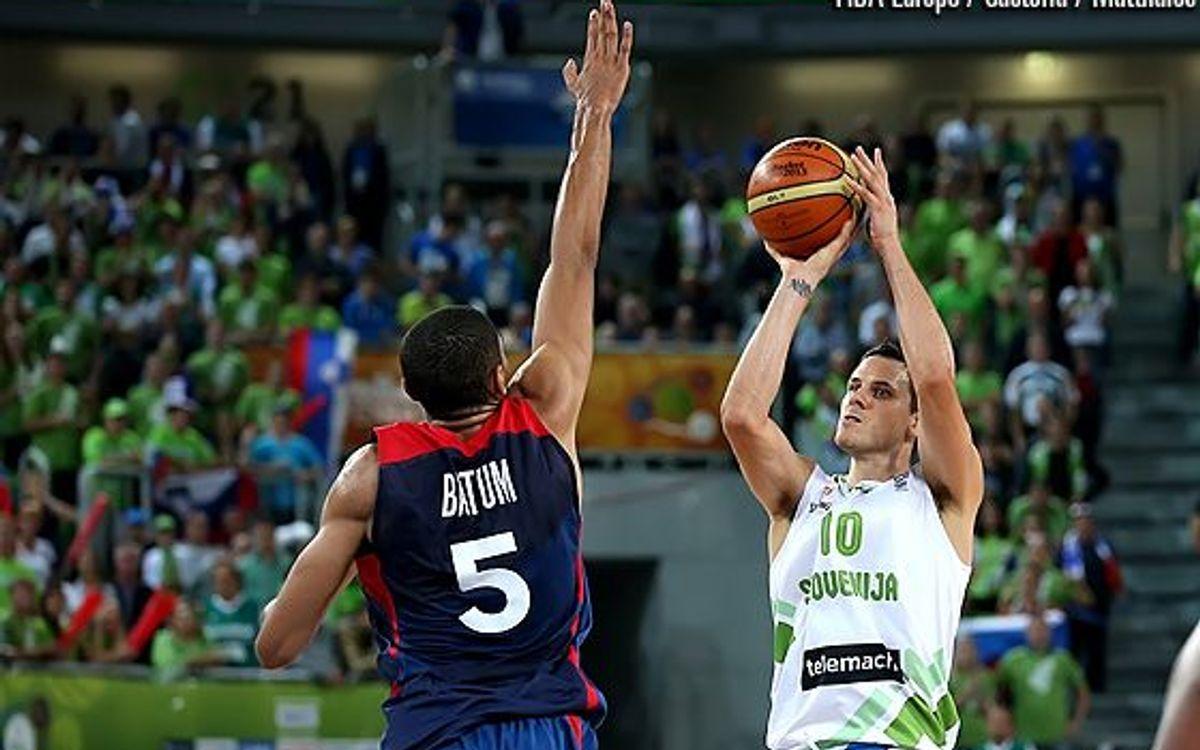 L'Eslovènia de Nachbar diu adéu a l'Eurobasket