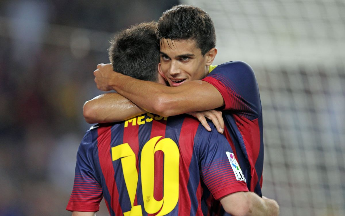 "Marc Bartra: ""I needed a goal like this because it give me confidence"""