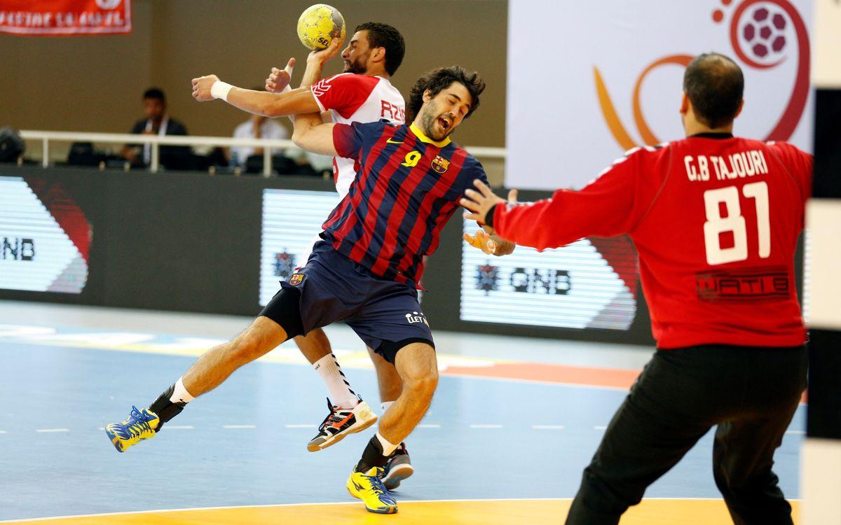 El Jaish de Qatar, rival del Barça a semifinals de la Superglobe