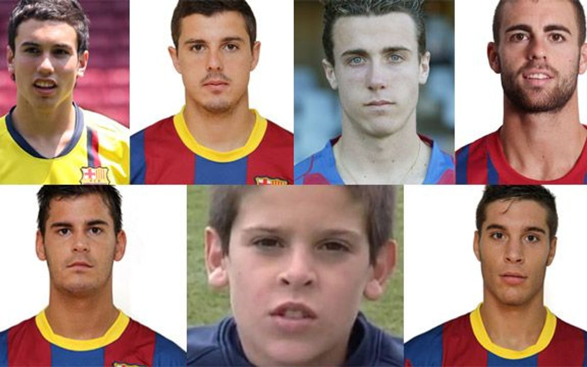 Zaragoza with seven ex-FC Barcelona youth players