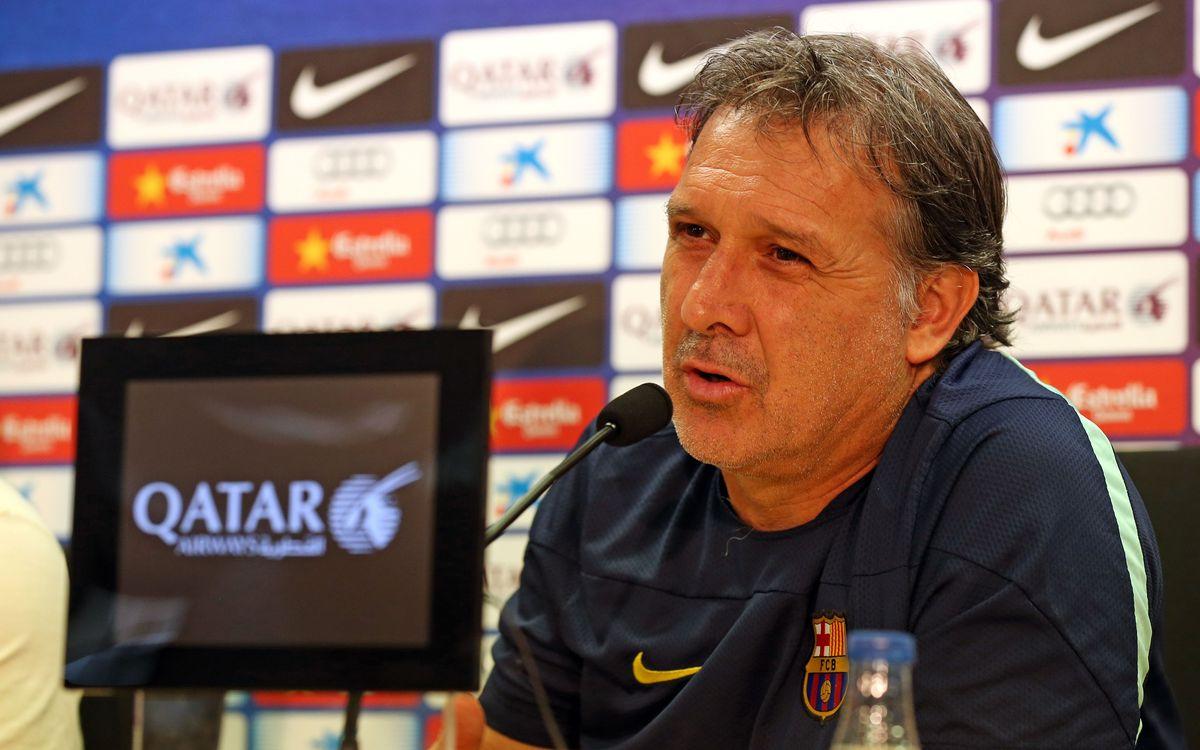 "Gerardo Martino: ""We need to improve our teamwork"""