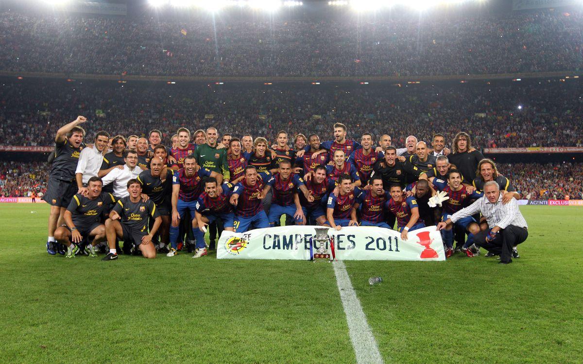 Le Barça jouera sa cinquième Supercoupe d'Espagne
