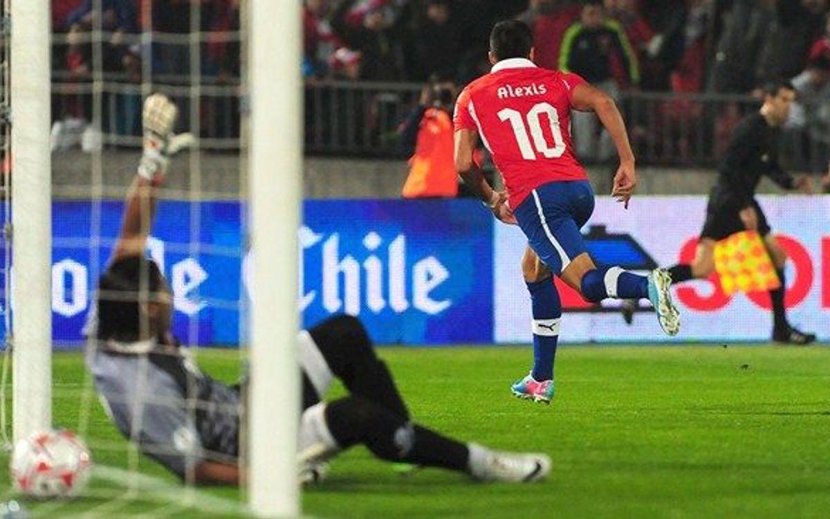 But d'Alexis et de nouvelles minutes pour Messi