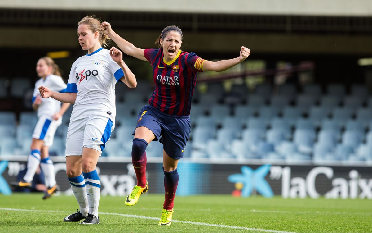 FC Barcelona – FC Zuric Frauen: One step closer to the quarter-finals (3-0)