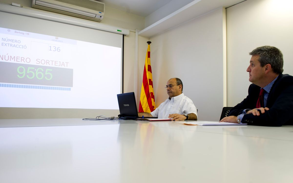 Sortejats els 40 socis que jugaran al Camp Nou gràcies a la campanya Camp Ple