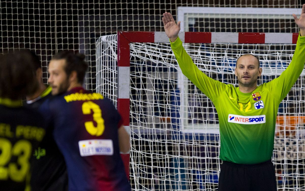 Silkeborg-FCB Intersport: Round of 16 advantage for FC Barcelona Intersport (26-32)