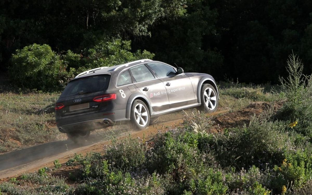 Audi Mountain driving experience