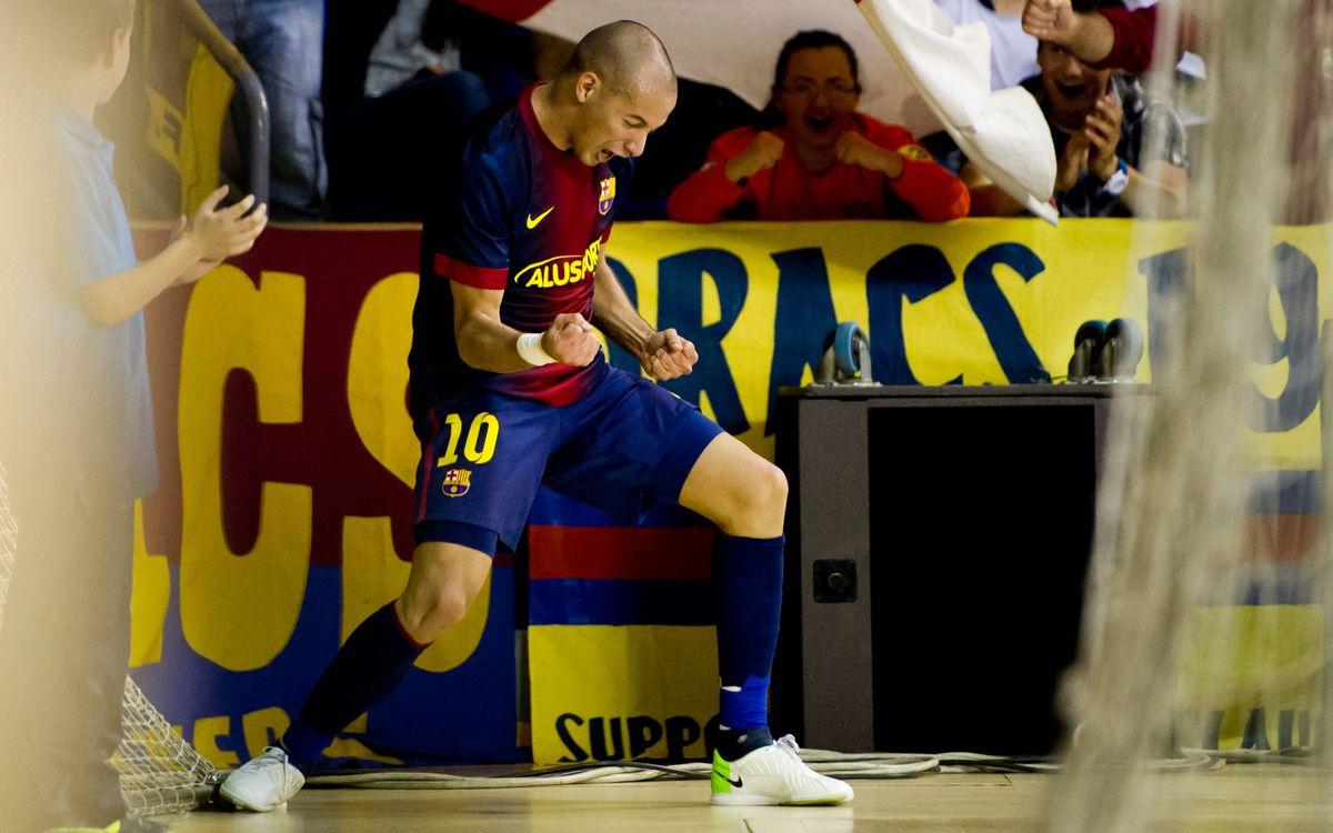 FC Barcelona Alusport 9-1 Ríos Renovables: Fantastic end to the regular season