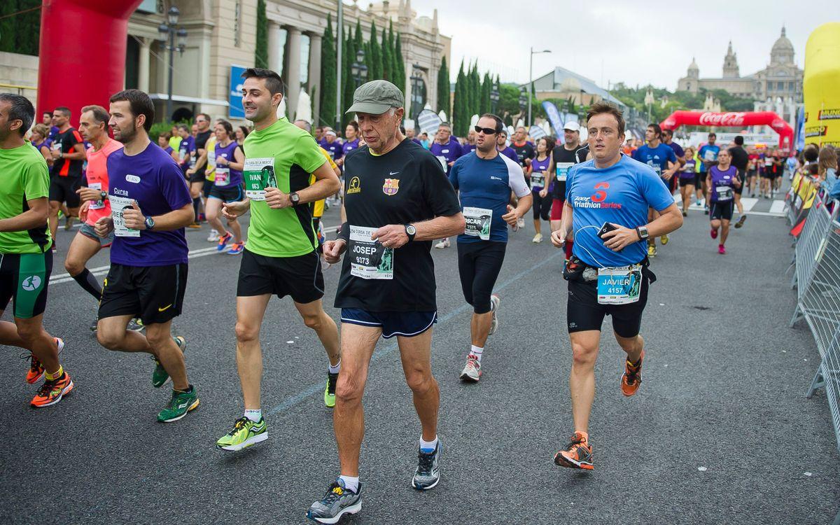 La 2ª edició de 'Corrent fem Barça', en marxa