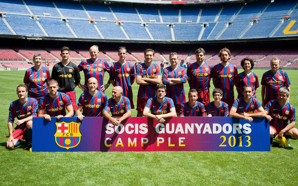 Els Socis Abonats de Camp Ple, també al Camp Nou