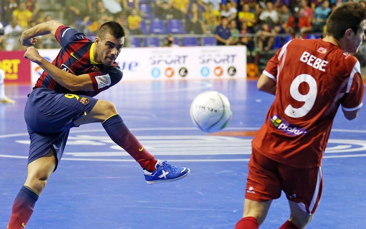 El Barça Alusport viatja a Jaén amb la intenció de restar punts al líder