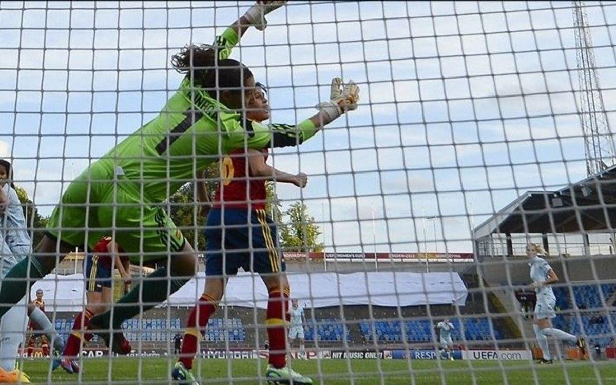 Espanya – França: Sonia no pot evitar la derrota contra una de les favorites (0-1)