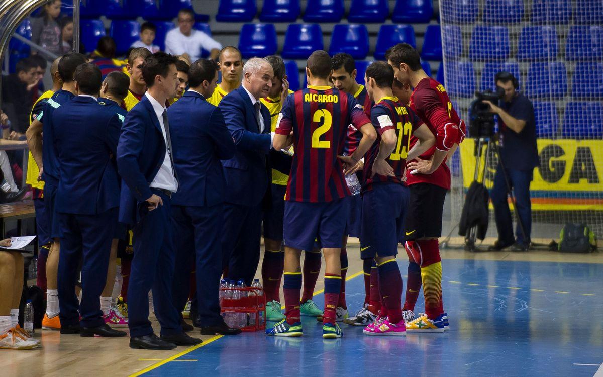 El Barça Alusport es veurà les cares amb el Magna Navarra