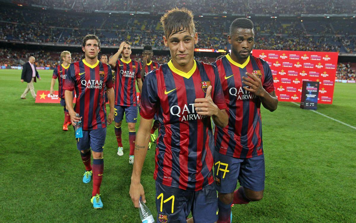 """Neymar: """"És tot un luxe jugar amb aquests companys"""""""