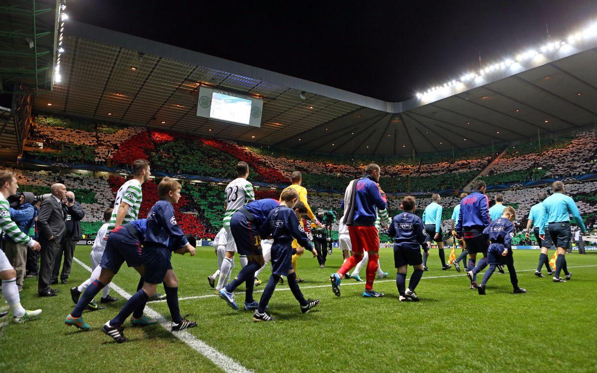 Celtic FC - FC Barcelona: Es respira futbol