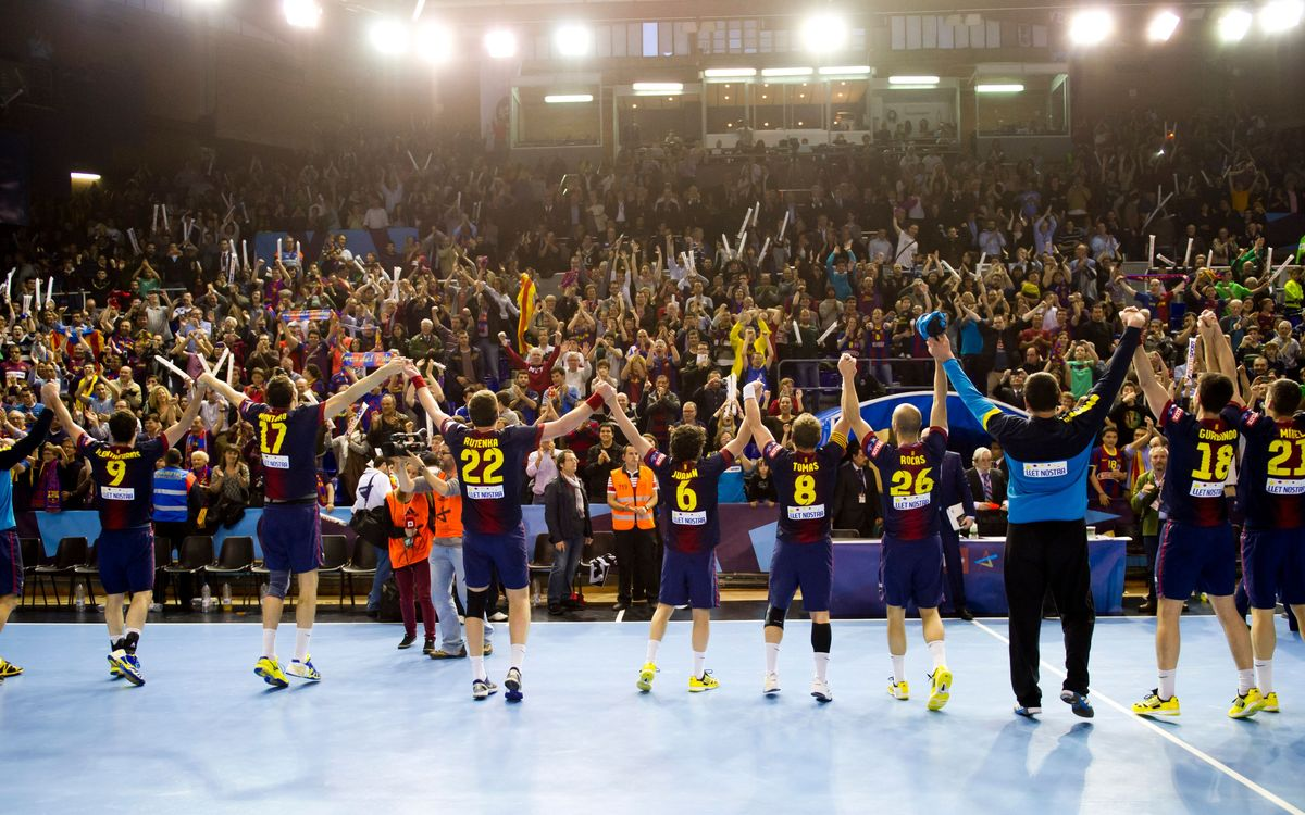 FCB Intersport – BM Atlético Madrid: Epic victory and to the Final Four! (32-24)