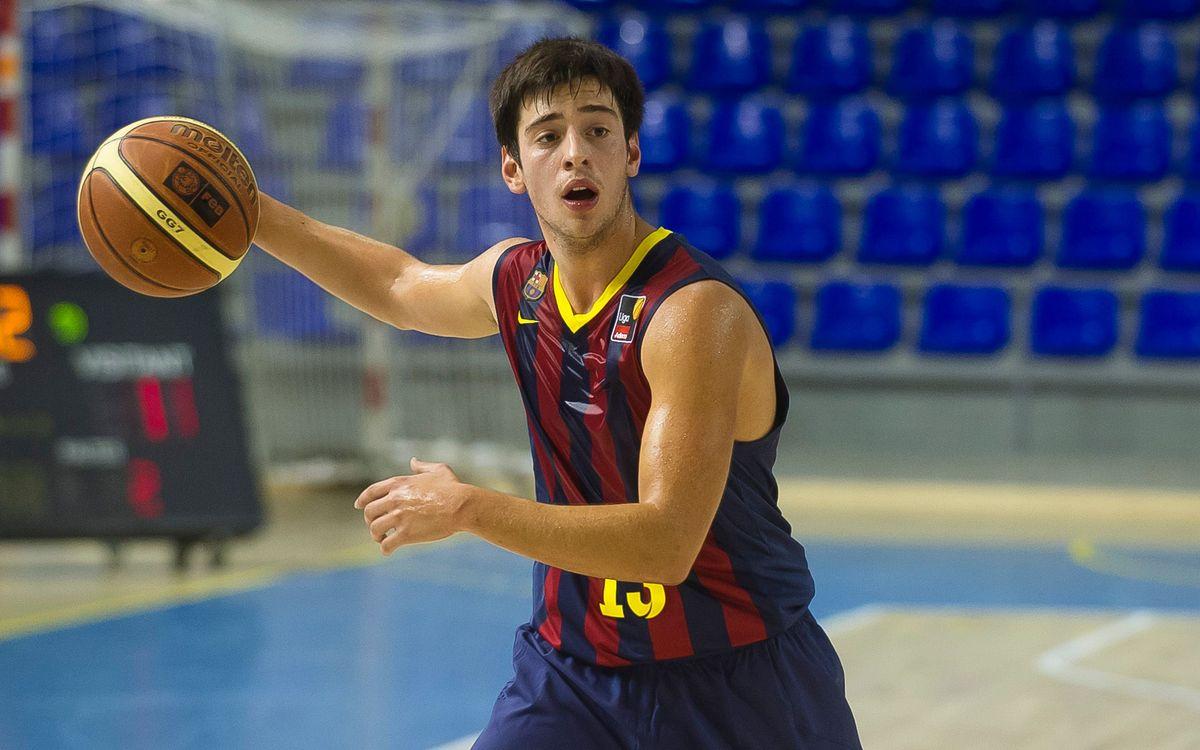 Josep Pérez, amb una ruptura parcial del tendó del peu dret, de 6 a 8 setmanes de baixa
