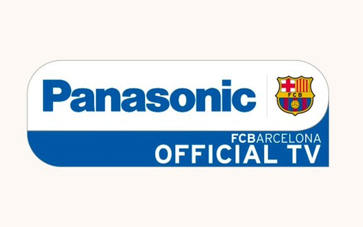 Collaboration agreement between FC Barcelona and Panasonic