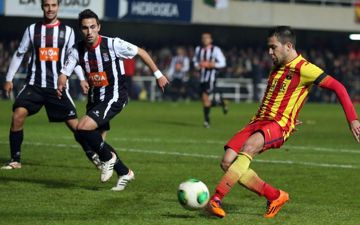"""Jordi Alba: 80 minuts de """"felicitat"""""""