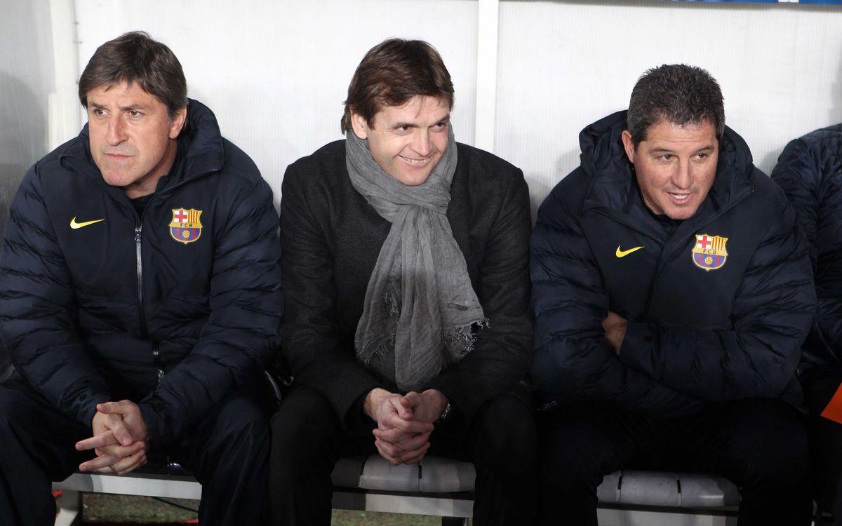 "Jordi Roura: ""Un bon résultat"""
