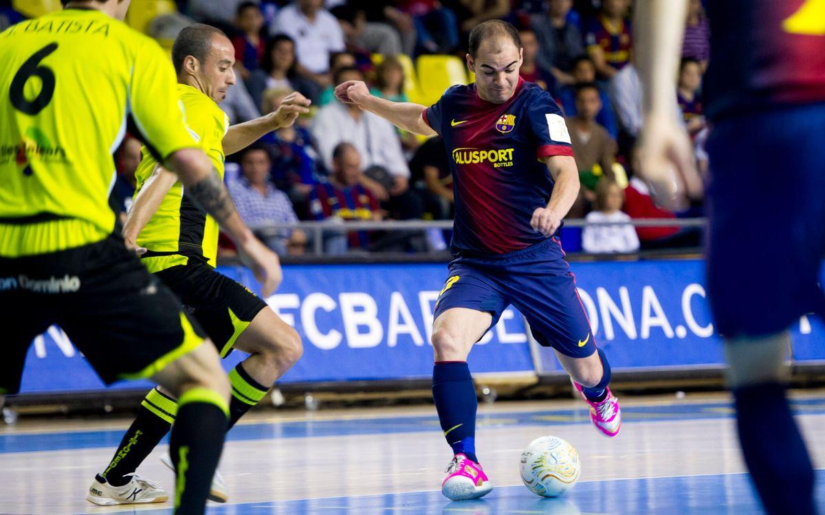 El Barça Alusport vol refermar davant dels seus el bon moment de joc