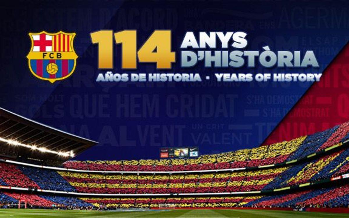 114 anys d'història