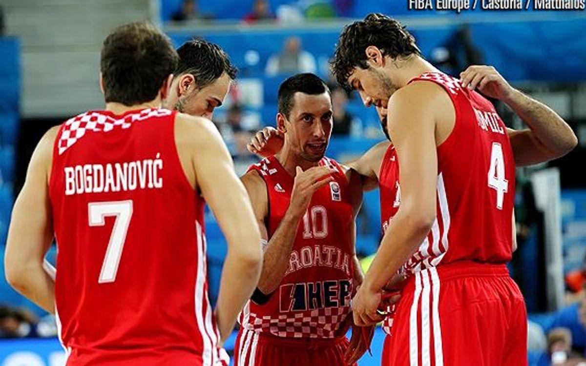 La Croàcia d'Ante Tomic, a semifinals