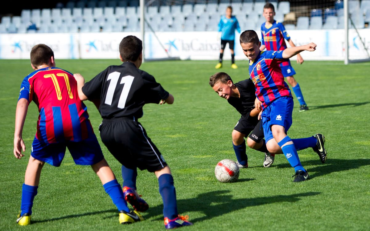 FC Barcelona Penyes Tournament finishes