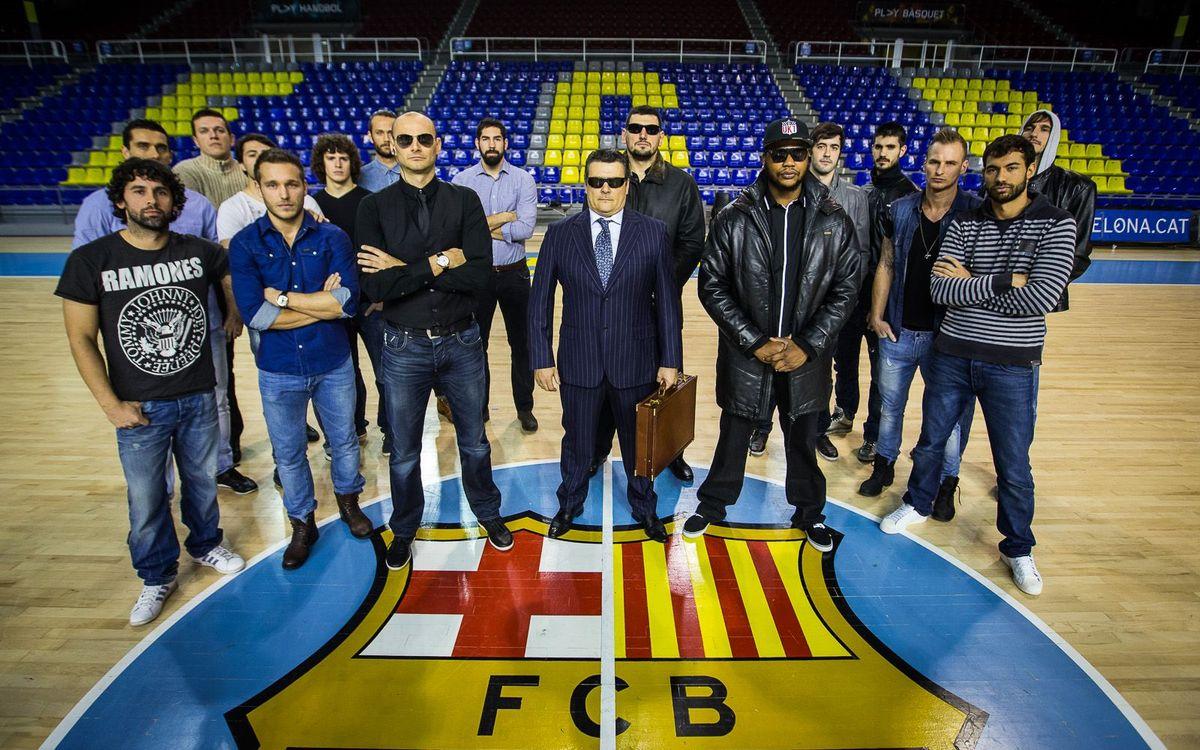 Quina en porten de cap els del Barça d'handbol?
