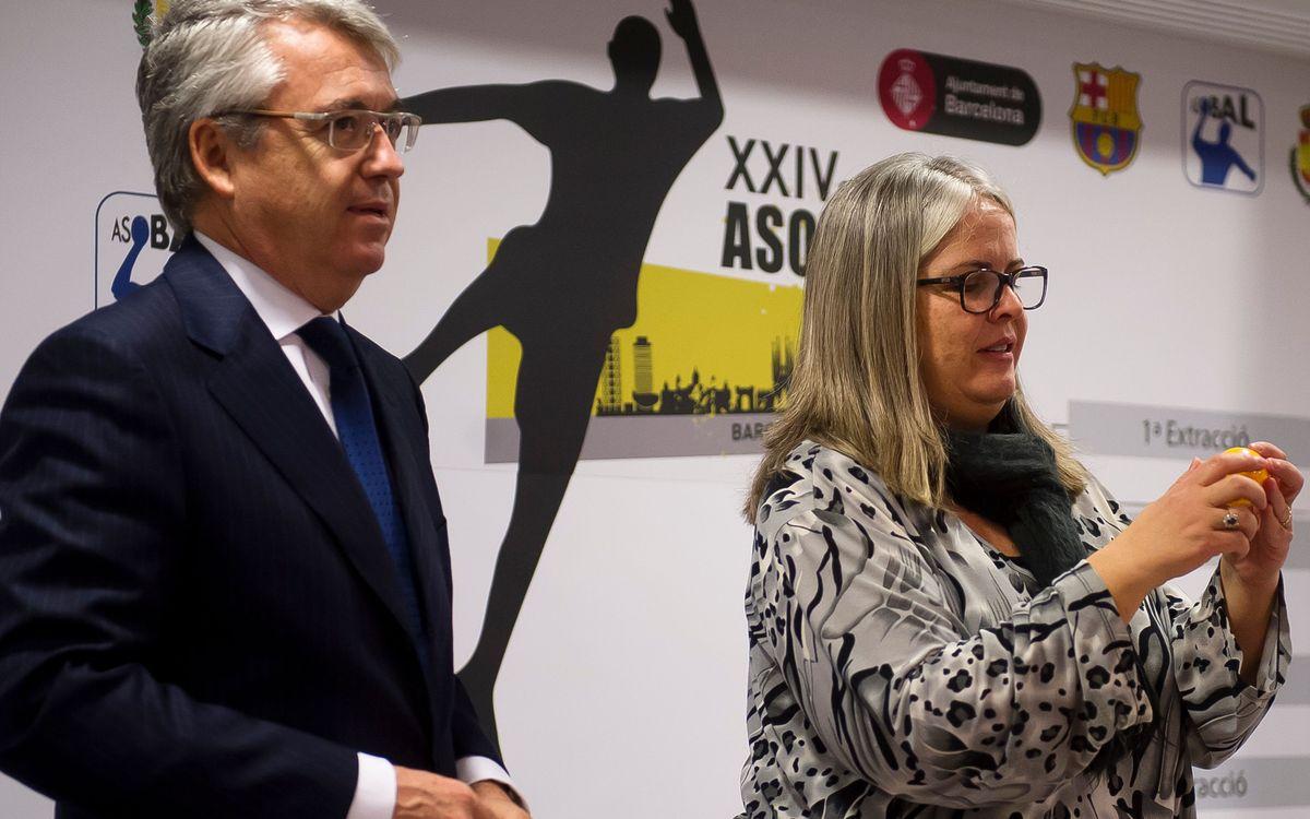 El BM Osca, rival del Barça d'handbol a les semifinals de la Copa Asobal